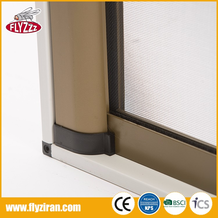 high quality customized garage anti insect durable sliding roller screen door