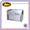Commercial Electric Hot Plates/Commercial Frytop with Sliding Door Cabinet