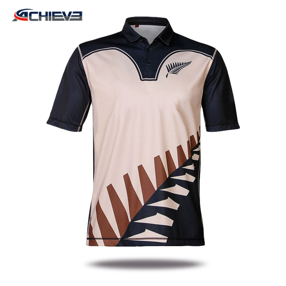 9ff7a37de7b1bb Best Quality Custom New Model Printing Cricket Jersey Pattern - Buy ...