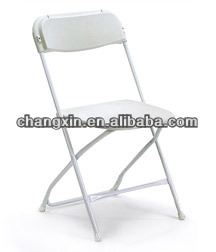 hot sale modern elegant metal stacking outdoor plastic folding chair