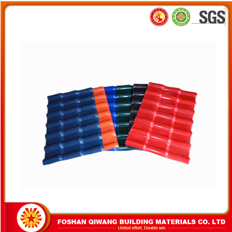 asa synthetic resin tile china suplier plastic roofing materials