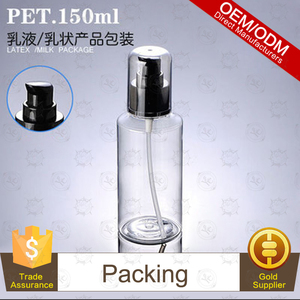 Floral Natural Energy Facial Emulsion in 150ML transparent inclined shoulder PET bottle