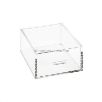 Clear Acrylic Storage Containers Acrylic Tall Drawer Clear Acrylic