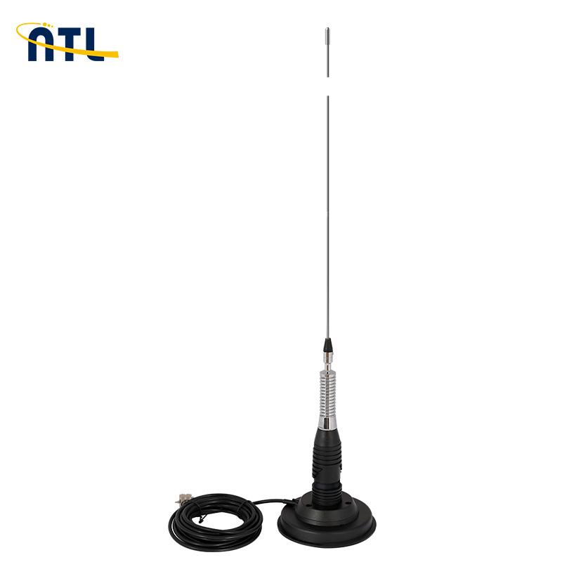 ML 145 נייד מקורה/חיצוני אנטנה מלא ערכת עם מגנט כבד הר נייד/רכב רדיו אנטנה