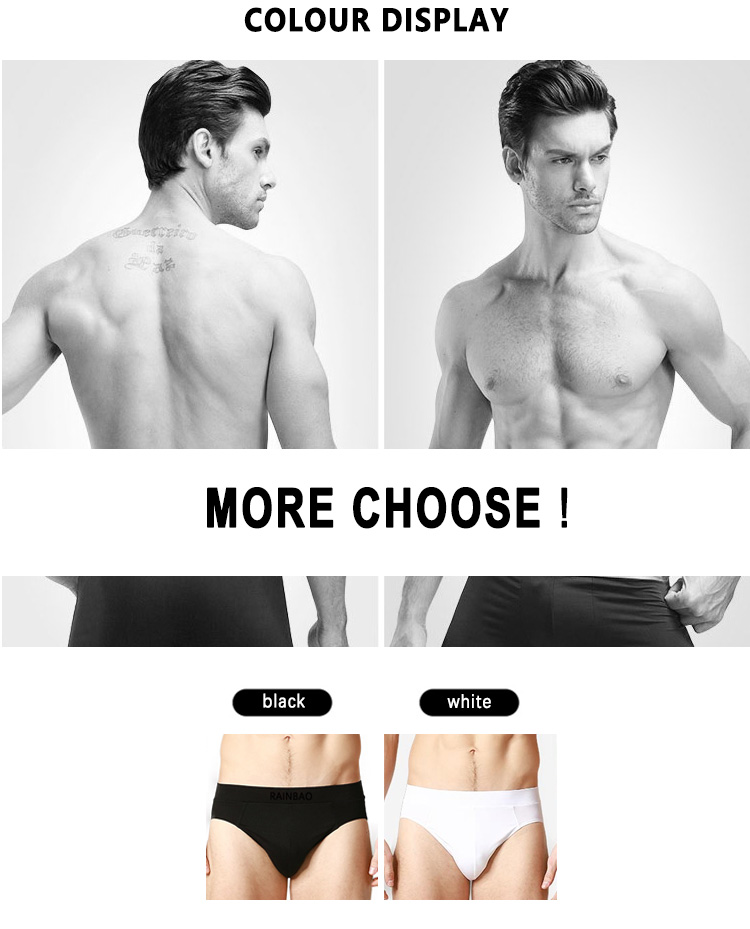 Custom elastic band high quality latest style european male underwear