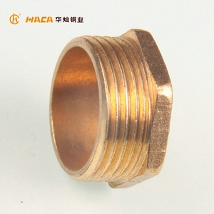 Wholesale Threaded Brass Inserts Hex Bushing