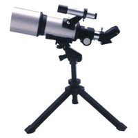 Astronomical telescope in sports and entertainment