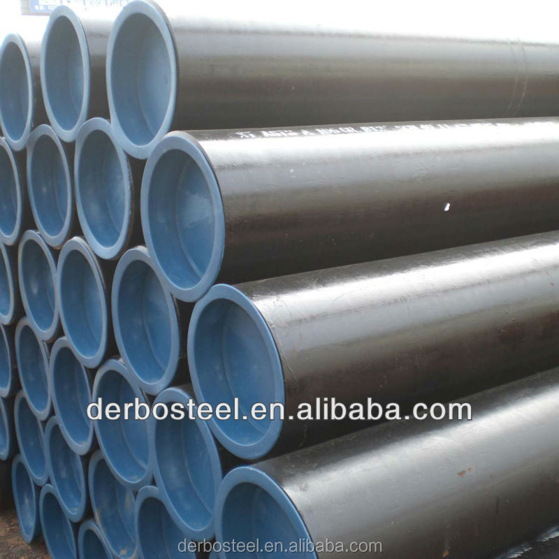 1/2 to 72 Inches ASTM A106 Seamless Carbon Steel Pipes For Petroleum, Gas Metallurgy