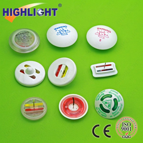 Highlight I004 Chain stores clothing display security ink tags/ anti-theft alarming ink tag/ EAS magnetic ink tag