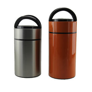 easy carrying design food jar thermos eco friendly lunch pot