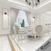 China Interior Decoration Natural Stone Names Of White Marble Floor Tiles