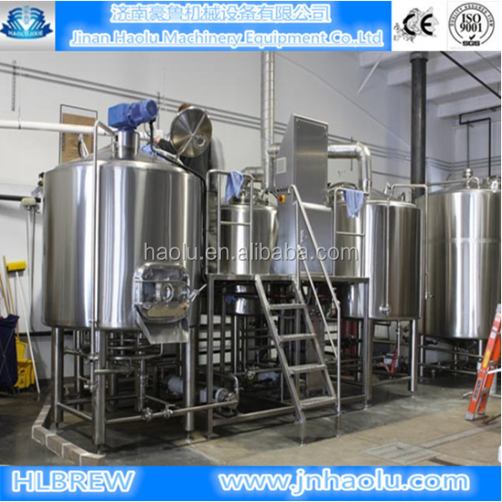 500L/5hl/5bbl beer brewery equipment,barley malting machine beer brewing machine beer making machine