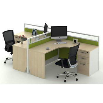 Modular Two 2 Person Office Workstation Parion Furniture Am Malaysia Spplier In China