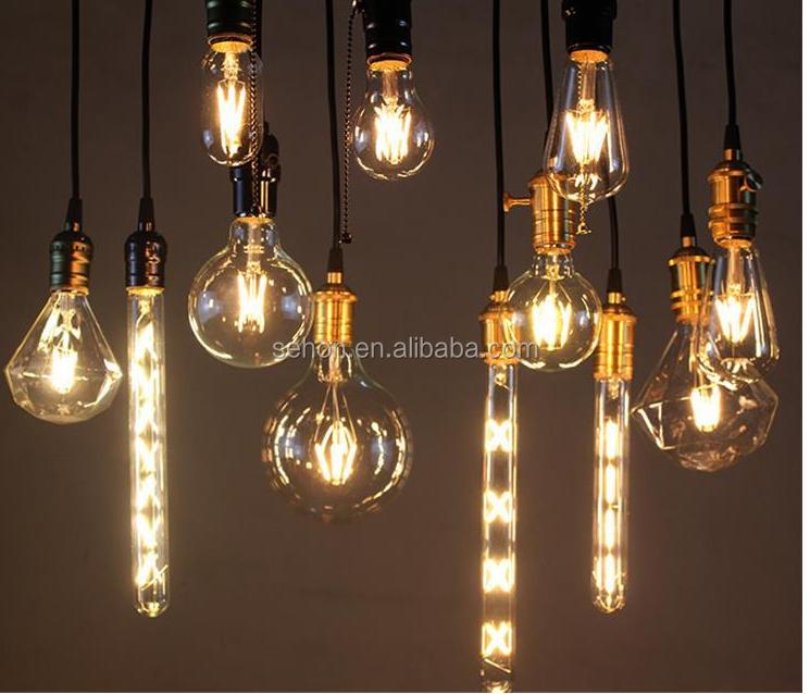 Led Home Lighting A60 Globe Dimmable Filament Led Bulbs 4w 6w 8w ...