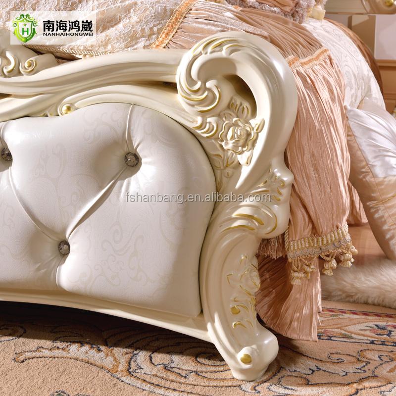 Modernem Luxus Royal Französisch Barock Rokoko-stil König Queen-size ...