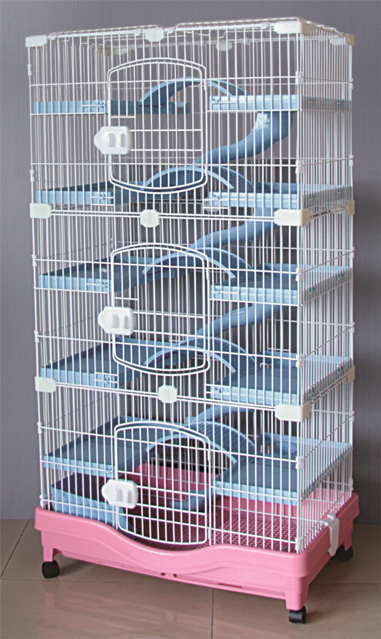 Factory Cheap Cat House Product Big Foldable Wire Pet Cat