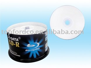 25GB Blu ray Disc Ink Jet Printable