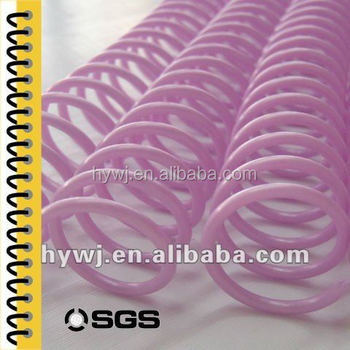 Office Binding Suppliers Plastic Paper Coil Ring Binder