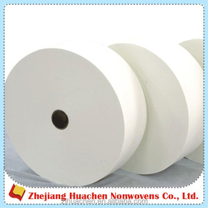 Wholesale Fabric wet wipes/baby wipes raw material spunlace nonwoven fabric