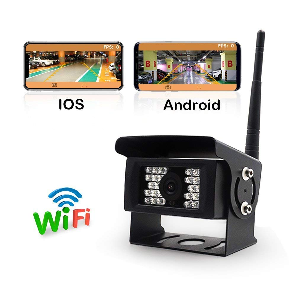WiFi Backup Camera Work with iphone SVTCAM SV-928WF Wireless Backup Camera for Truck,RV,Camper,Trailer ipad or Andriod Devices