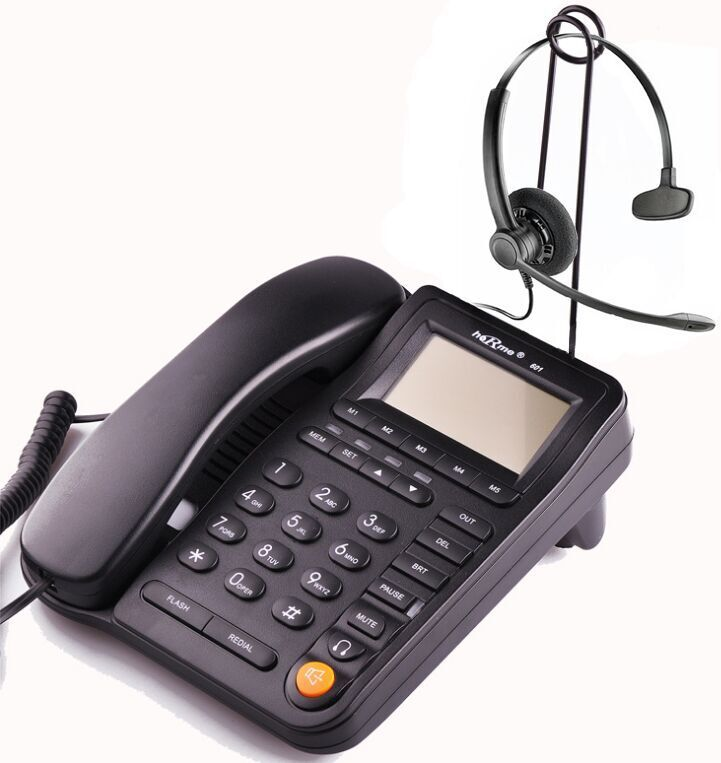 Buy Office / call center business headphones telephone with