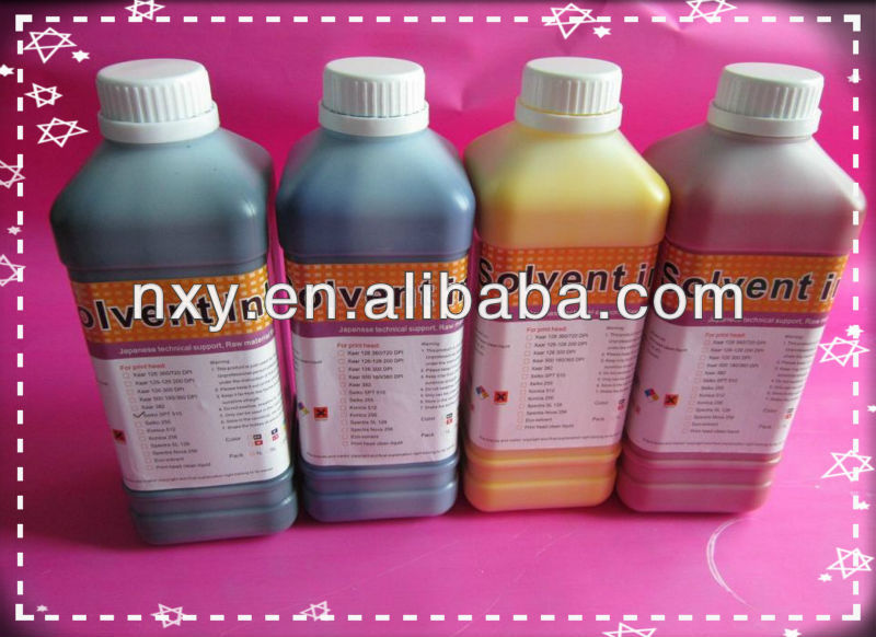 Solvent Ink for Yaselan,Liyu Xaar Printer head