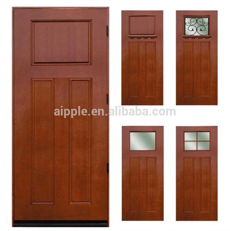 A prueba de agua de la puerta de madera para cuarto de for Puertas de madera para habitaciones