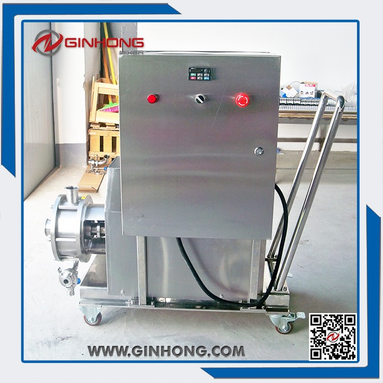 mayonnaise, dressing, jam making fa60 high shear dispersing emulsifier with manual lifting , High Shear Mixer