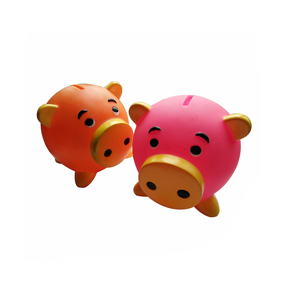 Brinquedo do vinil personalizado PVC porco money saving coin piggy bank