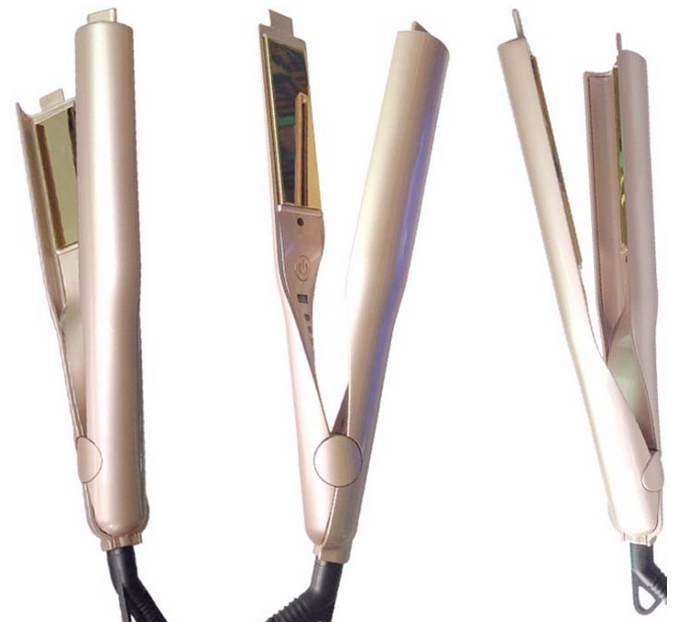 Professional steam hair straightener flat iron 2017