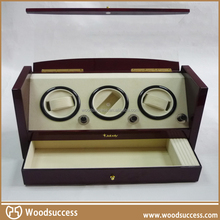 Hot popolare unique fai da te in legno automatic watch winder
