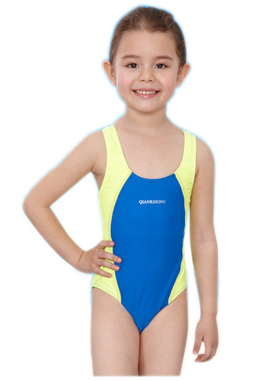 fc347029831 Get Quotations · Babyla Girl's Batman Bikini Swimwear Triangle One Piece  Swimsuit