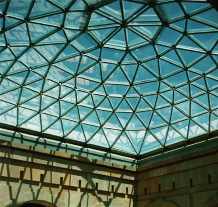 Prefab Steel Frame Glass Roof Dome Buy Glass Roof Dome