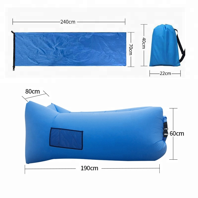 2020  Best Sell Camping Air Bed Sofa Bag Inflatable Sofa Air Chair Indoor Or Outdoor Camp Products