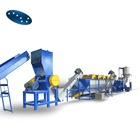 Plastic PE PP film recycling machine/plastic recycling plant/pet bottle washing line