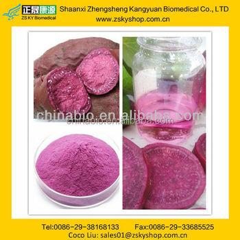 Gmp Manufacturer Supply Natural Purple Sweet Potato Extract Bulk ...