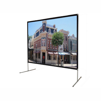 Economic 92 Inch To 300 Inc Fast Folding Projector Screen Outdoor