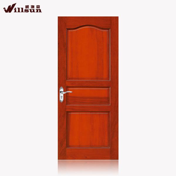 Modernes de logement int rieur en bois portes 3 panneau de for Porte interieur bois massif prix