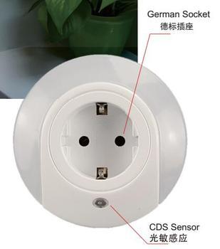 New Product Promotion Dusk To Dawn Sensor Plug Socket Night Light