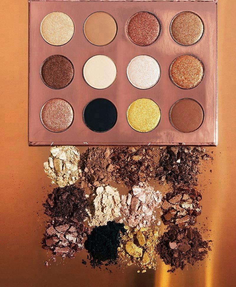 Halal Makeup Brands Make Your Own Brand 12c Eyeshadow Palette - Buy Halal  Makeup Brands,Makeup Multi Colored Eyeshadow Palette,Combo Makeup Palette