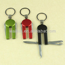 Wholesale Special Shaped 5 Functions Aluminum Crust Gift Knife
