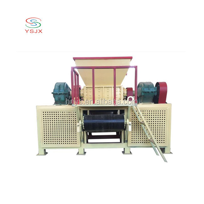 recycling waste plastic/wood pallet /metal tire shredder chipper crusher machine