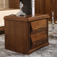 2019 Hot selling Vintage Furniture Locker Bedside Wooden Table with Drawer