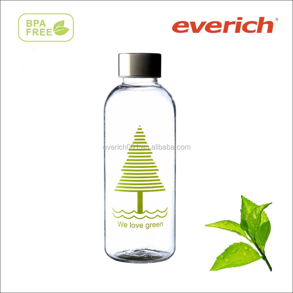 2015 best selling wholesale price bpa free biodegradable plastic bottle water