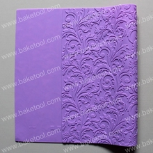 Bamboo Patterned Silicone Imprint Lace Mat Silicone Lace Mold for Fondant