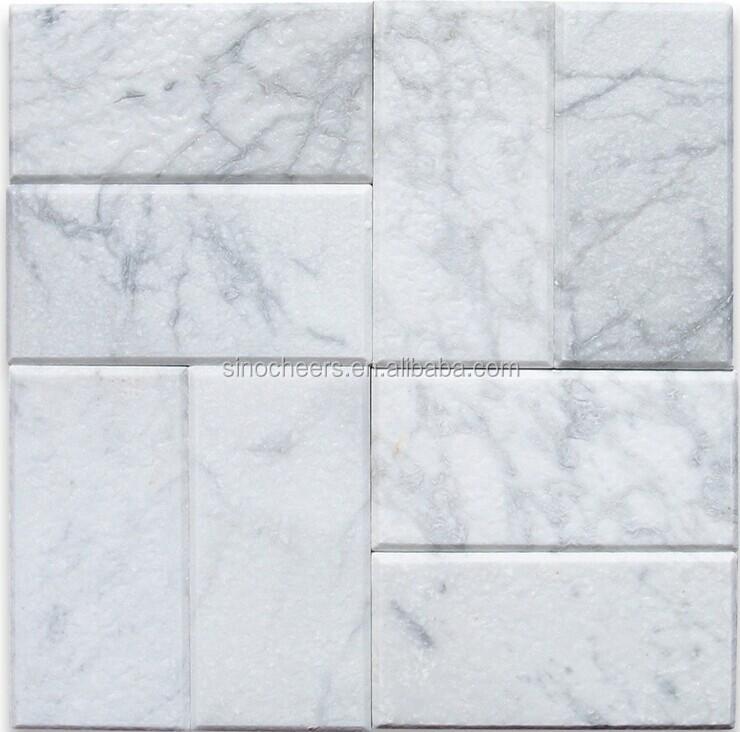 M rmol blanco de carrara azulejo metro 3x6 cay mosaicos - Marmol carrara precio ...