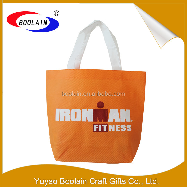 Simple style cheap price factory direct wholesale non woven hand bags