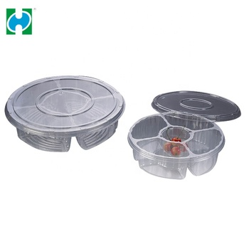 Custom Lowest Price Transparent PP Storage Plastic Container Packaging For Food