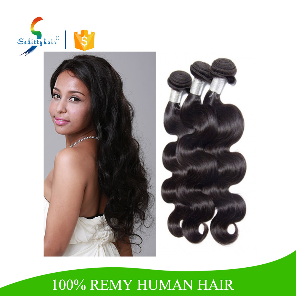 china alibaba new Top quality Body Wave straight indian remy hair extensions
