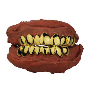 Missjewelry Cheap Custom Hip Hop Gold Teeth Grillz Wholesale